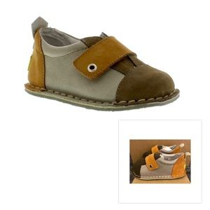 NWT! Pipit Leather/Suede Baby/Toddler Shoes